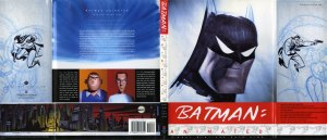 "full dust jacket to ""Batman Animated"""