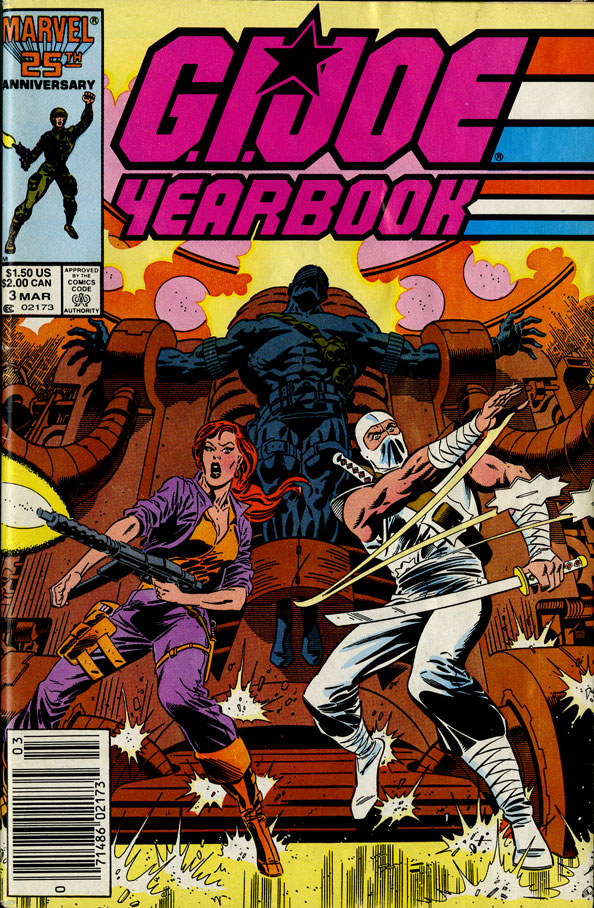 GI Joe Yearbook 3 Cover By Mike Zeck