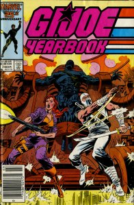 G.I. Joe Yearbook 3 cover by Mike Zeck
