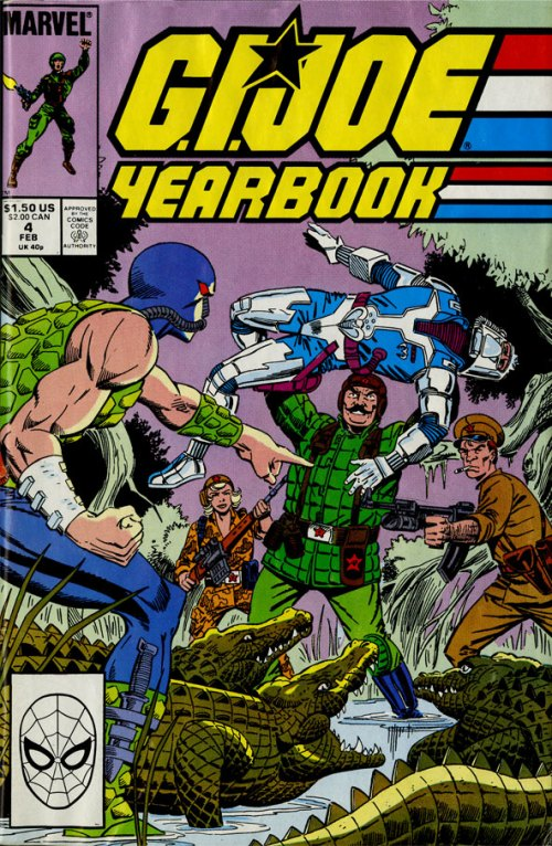 G.I.Joe Yearbook #4 cover art by Mike Zeck