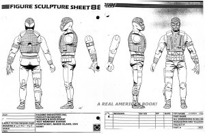G.I. Joe 1988 Hydro-Viper figure turnaround
