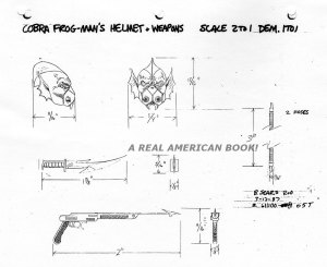 G.I. Joe 1988 Hydro-Viper weapons turnaround