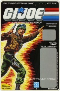 G.I. Joe 1986 Hawk blister card front