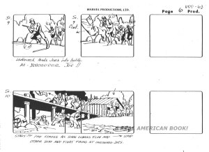 "G.I. Joe ""The Rotten Egg"" Season 2 storyboard"