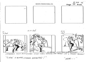 "G.I. Joe ""The Rotten Egg"" Season 2 storyboard page 007A"