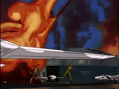 "G.I. Joe ""The Cobra Strikes"" screencap Duke Scarlett Skystrikers"