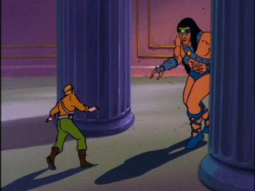 "G.I. Joe ""The Cobra Strikes"" Duke and Ramar"