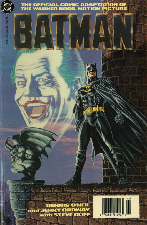Batman Movie Comics Adaptation