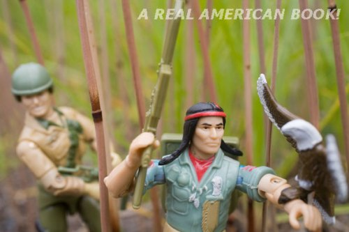 G.I. Joe Duke and Spirit action figures MG0581