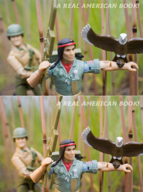 G.I. Joe Duke and Spirit action figure photo by Andre Blais - MG0590