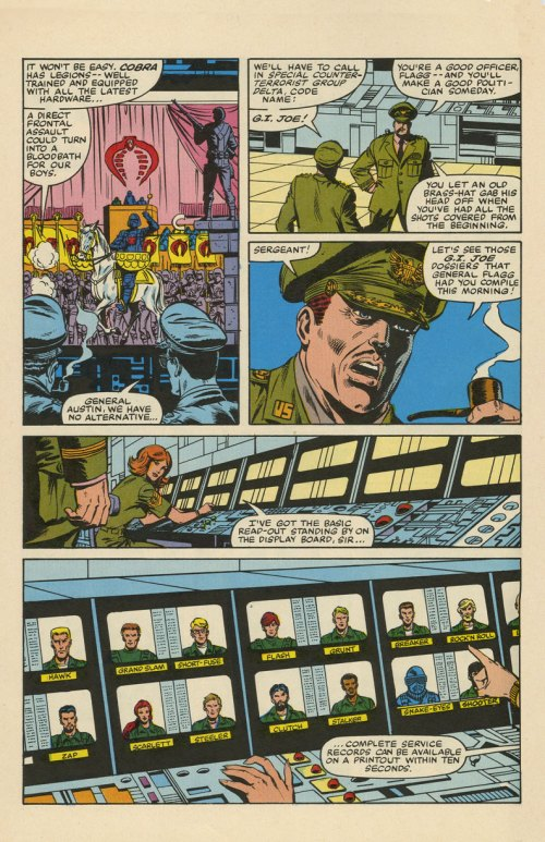 """G.I. Joe"" issue 1 pg06, as printed, March 1982, Trimpe/McLeod/Wein."
