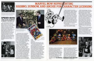 """Marvel Update"" spring 1982 pgs 3 & 4"