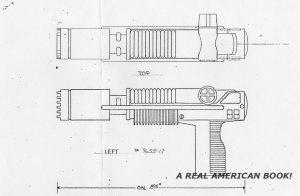Cobra Commander 1982 laser pistol by Greg Berndtson 1