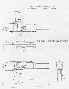Cobra Commander 1982 unproduced grenade gun by Greg Berndtson