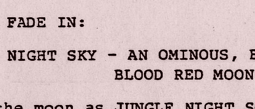 G.I. Joe: The Movie screenplay tease