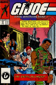 G.I. Joe issue #62 cover by Mike Zeck - type added