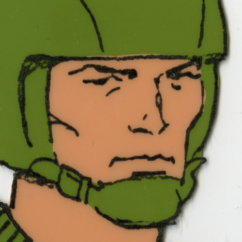 G.I. Joe model sheet tease Generic Joe