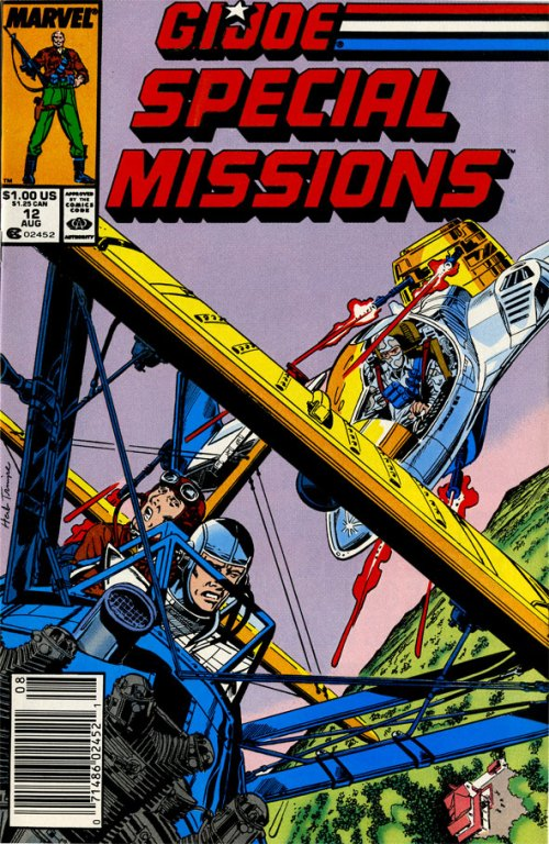 G.I. Joe Special Missions issue 12 cover by Herb Trimpe