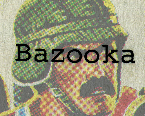 G.I. Joe Bazooka 1985 dossier Larry Hama tease