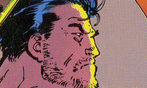 Punisher War Journal issue 19 detail by Jim Lee and Klaus Janson