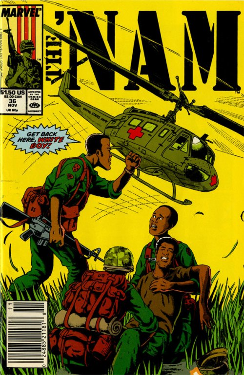 The 'Nam issue 36 cover by Wayne Vansant