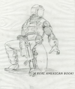 Kurt Groen 1991 Toxo-Viper v2 pencil art