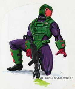 Kurt Groen 1991 Toxo-Viper v2 color sketch