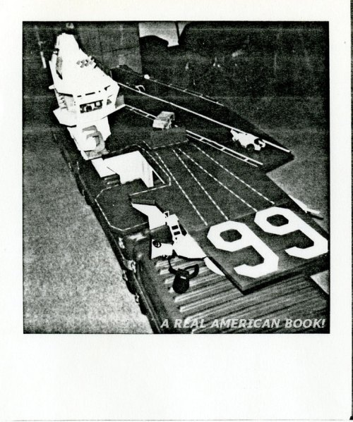 Photocopy of Polaroid picture with of the USS Flagg toy, date unknown, likely 1986 or 1987