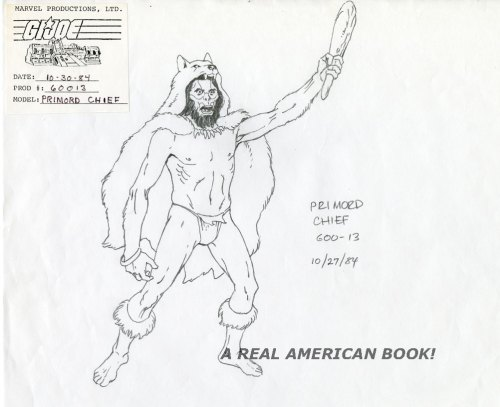 "Russ Heath original art G.I. Joe ""Satellite Down"" Primord Lord"