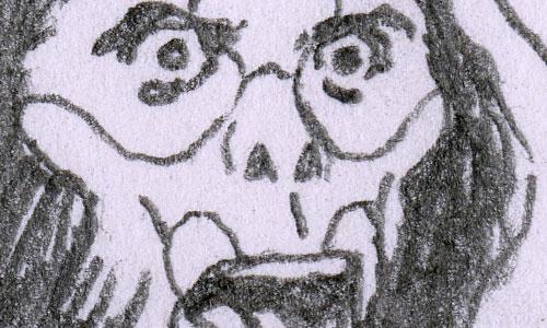 "Russ Heath original art detail G.I. Joe ""Satellite Down"" Primord Lord"