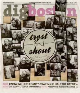 DigBoston Feb 29 2012 cover Diesel Cafe photobooth photos Tim Finn
