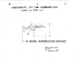 G.I. Joe 1988 Hit & Run weapon sculpt input Mark Pennington