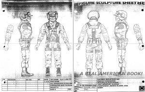 G.I. Joe 1988 Hit & Run figure sculpt input Mark Pennington