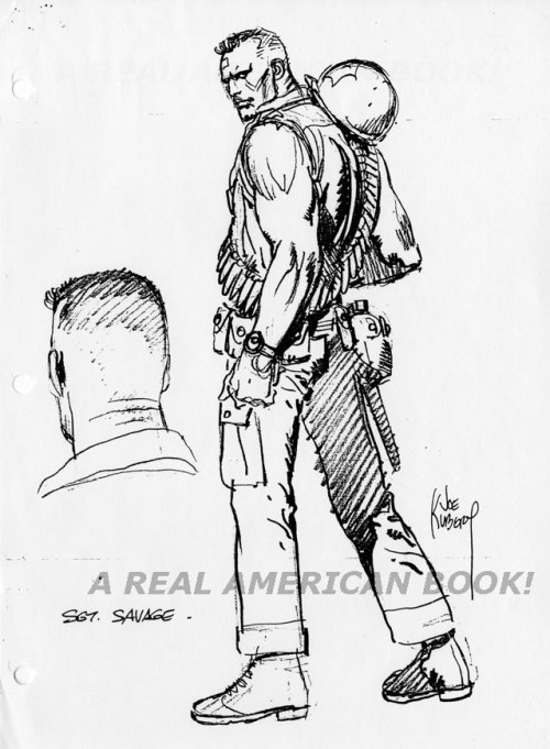 Sgt Savage G.I. Joe by Joe Kubert