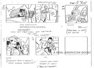 "G.I. Joe ""The Rotten Egg"" Season 2 storyboard page 007D"