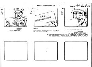 "G.I. Joe ""The Rotten Egg"" Season 2 storyboard page 009"