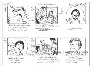 "G.I. Joe ""The Rotten Egg"" Season 2 storyboard page 009A"