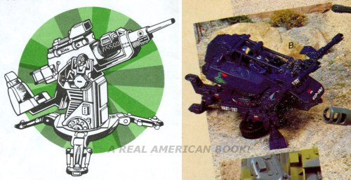 G.I. Joe catalog scan details FLAK and ASP