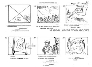"G.I. Joe ""The Rotten Egg"" Season 2 storyboard page 019"