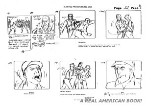 "G.I. Joe ""The Rotten Egg"" Season 2 storyboard page 022"