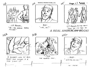 "G.I. Joe ""The Rotten Egg"" Season 2 storyboard page 023"