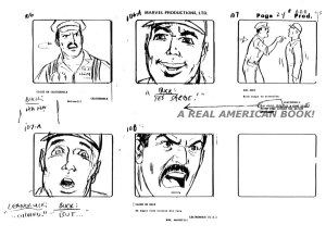 "G.I. Joe ""The Rotten Egg"" Season 2 storyboard page 024"