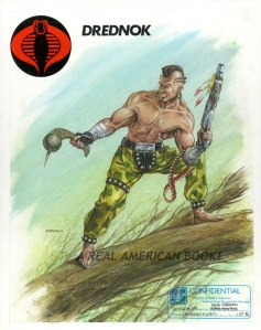 Dave Dorman Unproduced GI Joe Dreadnok 1