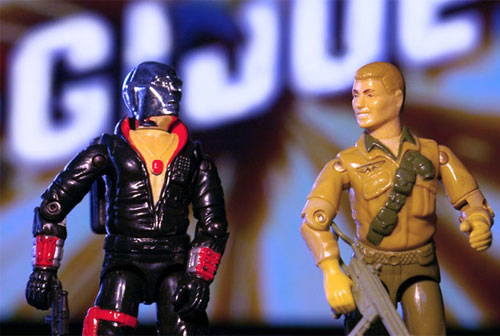 Destro Duke GI Joe action