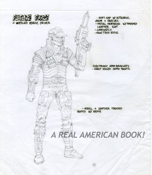 GI Joe Battle Force 2000 Blocker Pencil