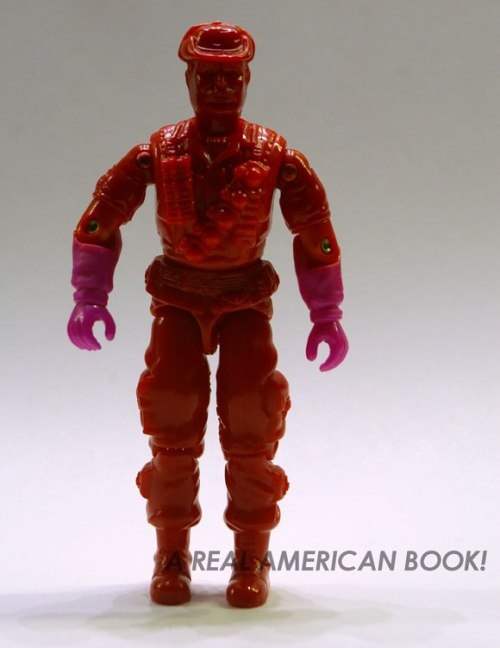 Test shot of GI Joe 1993 Leatherneck figure, front view