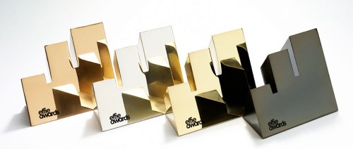 image of award statuettes taken from Effie website