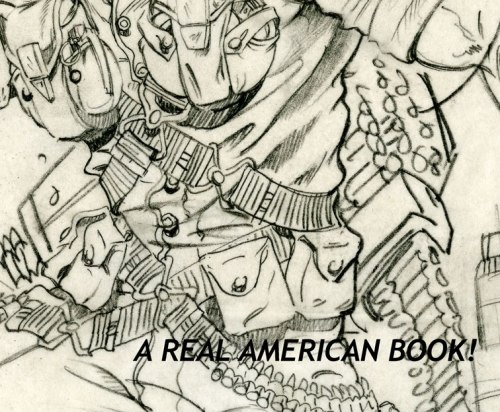 Detail, internal Hasbro pencil sketch design of 1989 Rock & Roll by Bart Sears and Ron Rudat