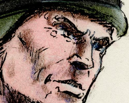 Detail of 1992 G.I. Joe Duke art by Kurt Groen in alternate colors