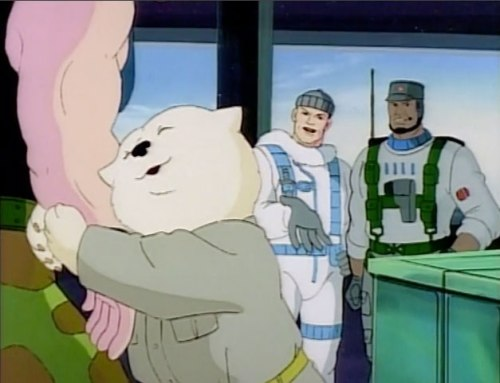 "Screencap from 1990 GI Joe episode ""Cold Shoulder"""